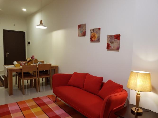 Phòng khách The Sun Avenue Căn hộ The Sun Avenue tầng thấp, view sông lãng mạn.