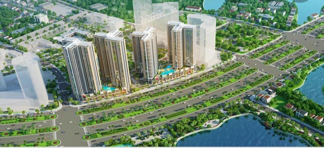 Bán căn hộ Eco Green Sài Gòn, diện tích sàn 61.52m2 - 2 phòng ngủ, ban công hướng Bắc, đầy đủ nội thất.