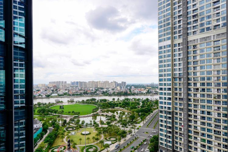 View Bán hoặc cho thuê căn hộ Vinhomes Central Park 3PN, tháp Landmark 81, view sông và công viên