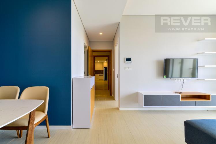 Phòng Khách 1 Bán căn hộ Diamond Island - Đảo Kim Cương 3 phòng ngủ, đầy đủ nội thất, view sông mát mẻ