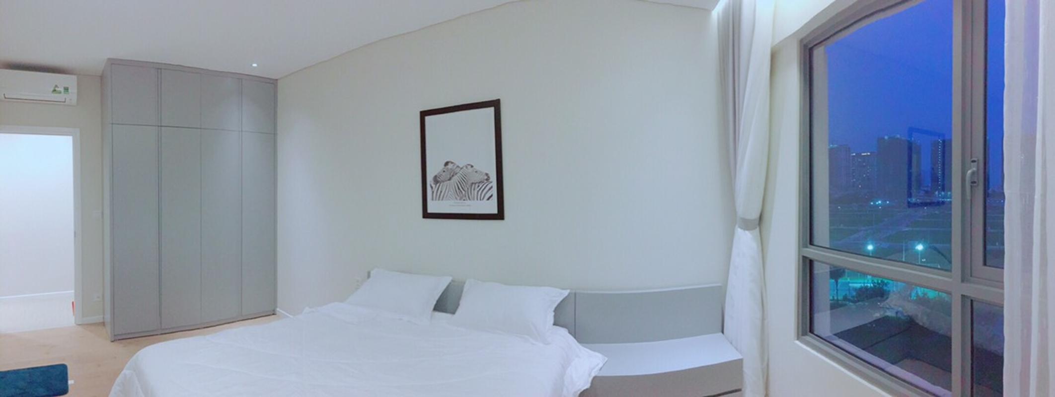 Phòng ngủ Cho thuê căn hộ Diamond Island - Đảo Kim Cương 2PN, tháp Bora Bora, đầy đủ nội thất, view sông thông thoáng