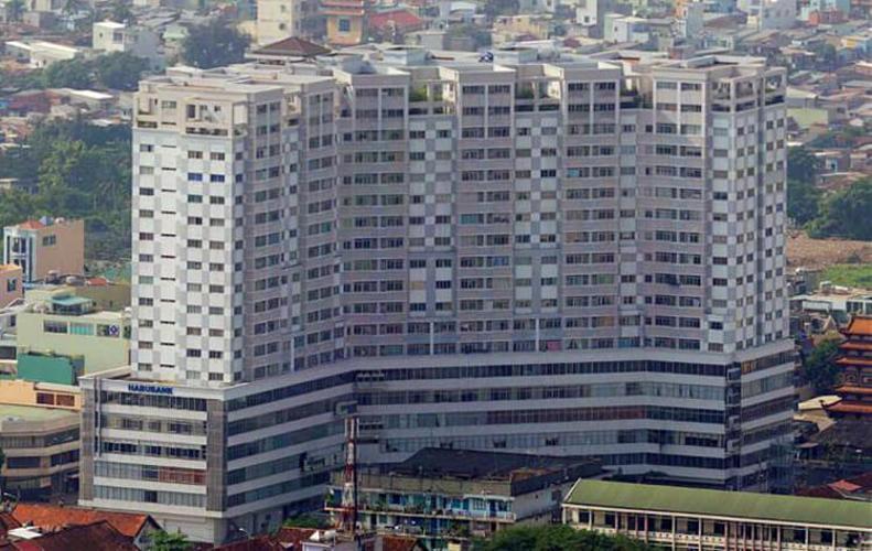 Building dự án Căn hộ H3 Hoàng Diệu tầng 06 ban công Tây Bắc thoáng gió.