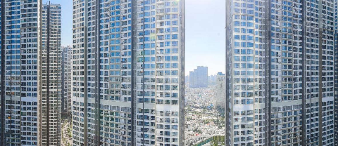 View Căn hộ Vinhomes Central Park tầng cao, tháp Landmark 81, 2PN 2WC