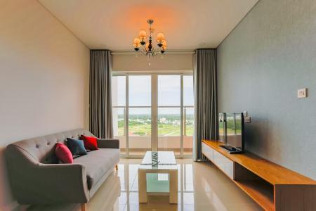 Căn hộ Dragon Hill Residence and Suites 2 phòng ngủ tầng trung hướng Tây