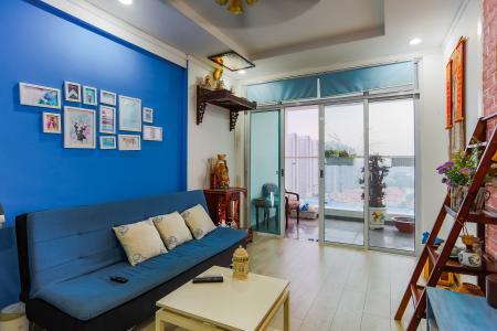 Căn hộ Hoàng Anh Thanh Bình 3 phòng ngủ tầng cao tháp B đầy đủ tiện nghi