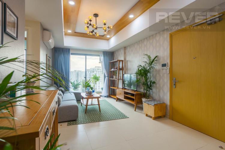 Tổng Quan Cho thuê căn hộ Masteri Thảo Điền tầng cao, 2PN, đầy đủ nội thất