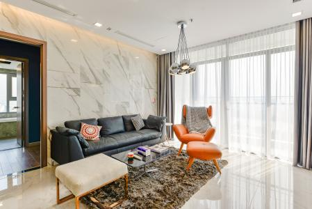 Căn hộ Vinhomes Central Park 3 phòng ngủ tầng trung P4 view sông