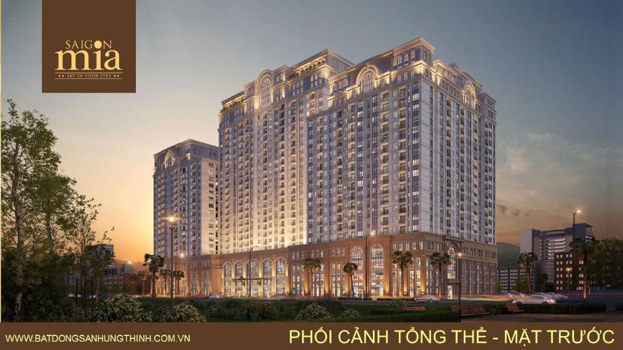 Bán căn hộ Saigon Mia tầng thấp, diện tích 83m2 - 2 phòng ngủ