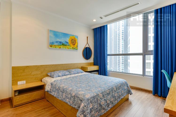 Phòng ngủ 1 Căn hộ Vinhomes Central Park 2 phòng ngủ, tầng thấp C2, nội thất đầy đủ