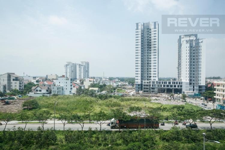View Căn góc Phú Hoàng Anh 3 phòng ngủ tầng trung tòa B2 nội thất cơ bản