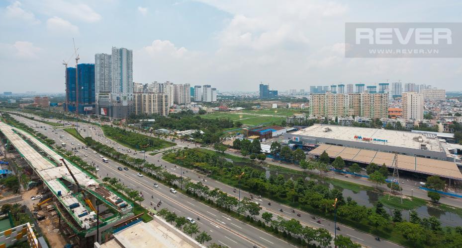 View Căn hộ Masteri Thảo Điền 3 phòng ngủ tầng cao T5 đầy đủ nội thất
