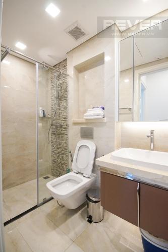 Phòng Tắm Cho thuê căn hộ Vinhomes Golden River 1PN, tầng cao, đầy đủ nội thất, view sông thoáng mát