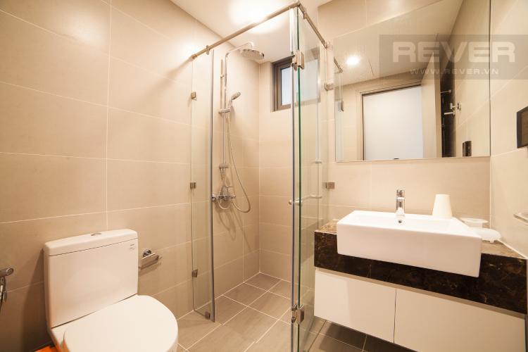 Phòng tắm 1 Căn hộ The Gold View 2 phòng ngủ tầng thấp tháp B nội thất đầy đủ
