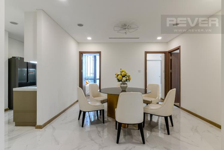 Phòng Ăn Bán căn hộ Vinhomes Central Park 3PN, tầng cao, đầy đủ nội thất, thuộc tháp Landmark 81