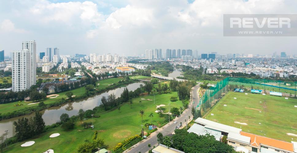 View Căn góc Scenic Valley 2 phòng ngủ tầng cao tháp D view hướng sông