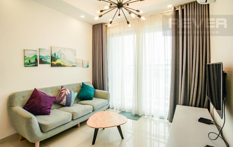 Phòng Khách Cho thuê căn hộ Florita tầng thấp 2 phòng ngủ, đầy đủ nội thất