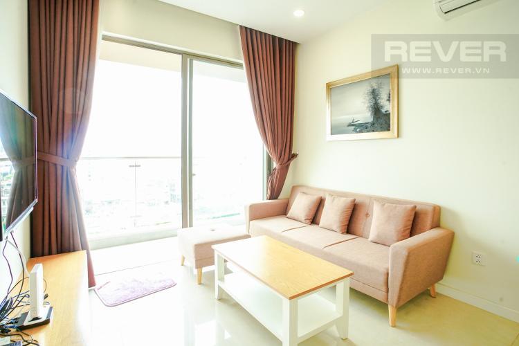Cho thuê căn hộ Masteri Millennium 2PN, block A, đầy đủ nội thất, view sông, Bitexco và Landmark 81