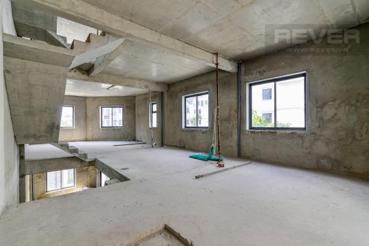Tầng 3 Bán nhà phố Lakeview City 3PN 3WC, nhà trống không có nội thất, view khu đô thị