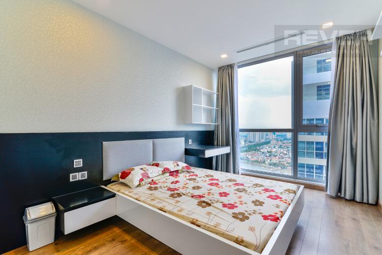Phòng Ngủ 2 Bán căn hộ Vinhomes Central Park tầng cao, 2PN, đầy đủ nội thất, view sông