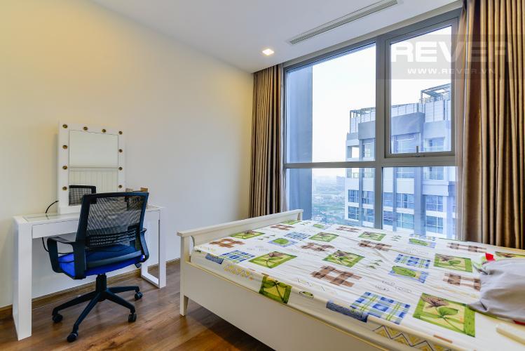 Phòng Ngủ 2 Căn hộ Vinhomes Central Park tầng cao tháp Park 2, 3PN nội thất đầy đủ