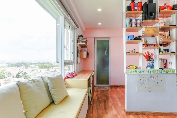 Phòng Làm Việc Căn hộ E-Home 5 The Bridgeview tầng cao, tháp B, 2 phòng ngủ, view sông.