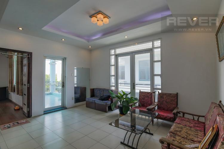 Tầng 3 Cho thuê nhà phố KDC Khang An - Phú Hữu Q.9, 3 tầng, 5 phòng ngủ, đầy đủ nội thất, diện tích 168m2