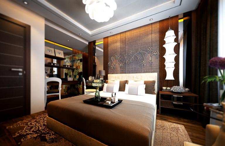 Nhà mẫu căn hộ Carillon 7, Tân Phú Căn hộ Carillon 7 ban công hướng Đông Nam, view tầng cao mát mẻ.