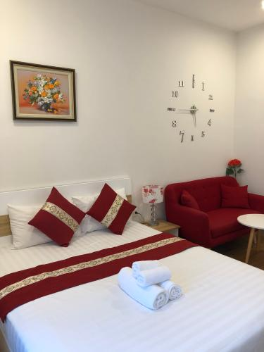 Cho thuê căn hộ RiverGate Residence 1 phòng ngủ, tháp B, đầy đủ nội thất, view thành phố