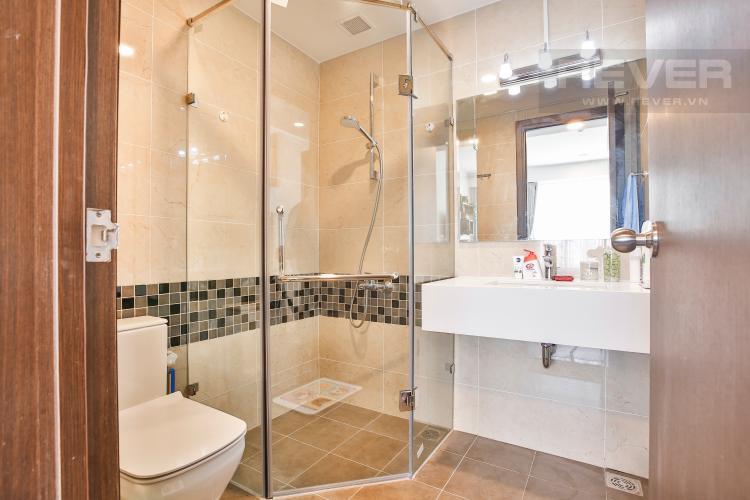Toilet 2 Căn hộ The Tresor 2 phòng ngủ tầng cao TS1 đầy đủ nội thất