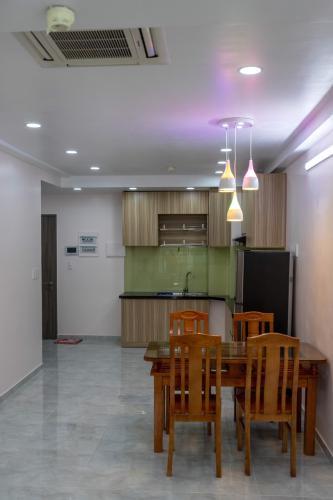 Phòng bếp căn hộ Saigon South Residence, Nhà Bè Căn hộ Saigon South Residence view thành phố thoáng mát, yên tĩnh.