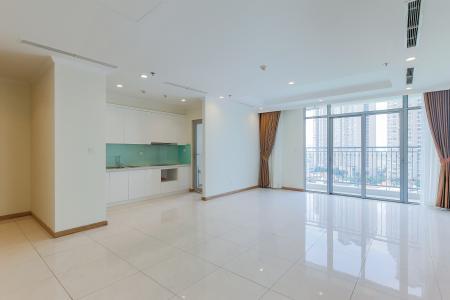 Bán căn góc Vinhomes Central Park 3 phòng ngủ tầng trung tháp C3, diện tích lớn 122m2