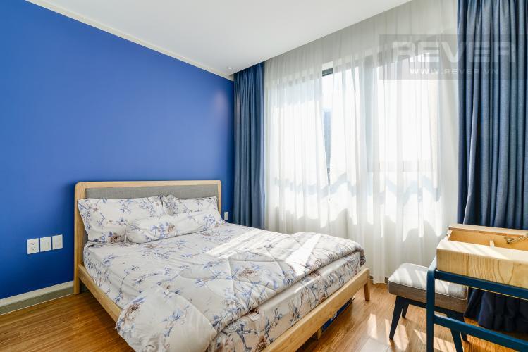 Phòng Ngủ 1 Căn hộ The Gold View 2 phòng ngủ tầng thấp tháp B đầy đủ nội thất