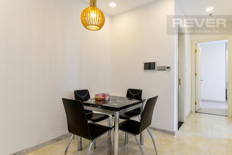 Phòng Ăn Căn hộ Vinhomes Golden River tầng trung, tháp The Aqua 3, 2PN, nội thất đầy đủ