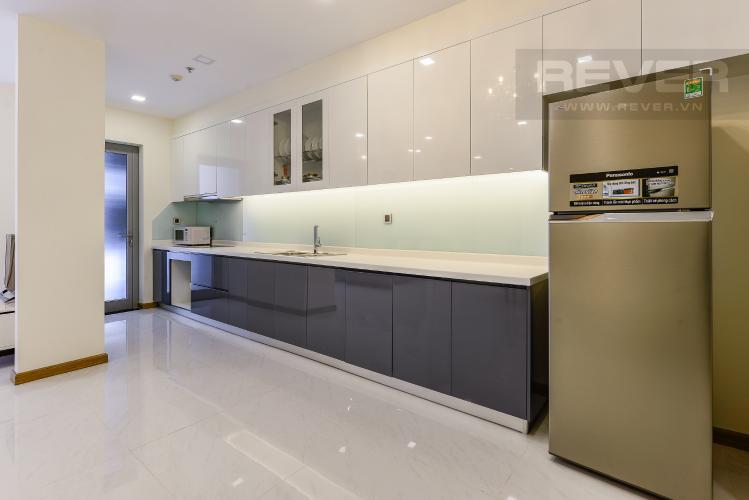 Bếp Căn hộ Vinhomes Central Park 3 phòng ngủ tầng cao P3 view sông