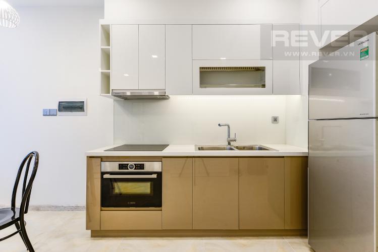 Bếp Cho thuê căn hộ Vinhomes Golden River tầng cao, 1PN, view sông