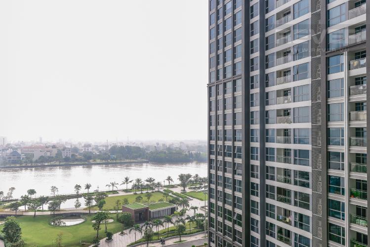 View Căn hộ Vinhomes Central Park 2 phòng ngủ tầng trung P2 view sông