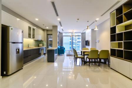 Căn hộ Vinhomes Central Park tầng cao, Park 3, 3 phòng ngủ, full nội thất