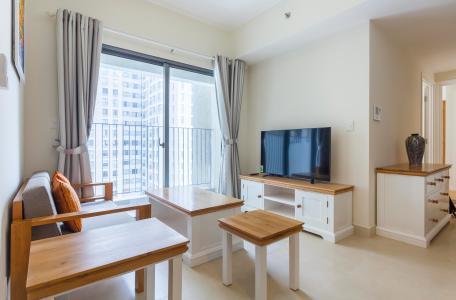 Căn hộ Masteri Thảo Điền 2 phòng ngủ tầng cao T1 nội thất đầy đủ