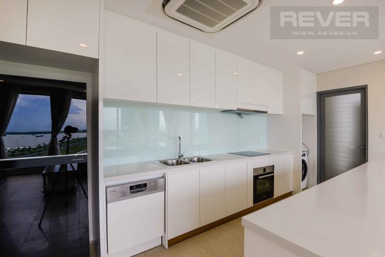 Bếp Bán căn hộ Diamond Island - Đảo Kim Cương 3PN, đầy đủ nội thất, hướng Đông Nam và view sông thoáng mát