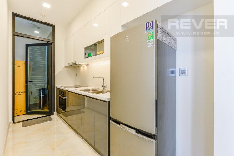 Bếp Officetel Vinhomes Golden River 2 phòng ngủ tầng trung A3 view sông