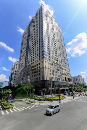 Saigon Royal, Quận 4 Căn hộ Saigon Royal tầng cao hướng Tây Bắc, nội thất đầy đủ.