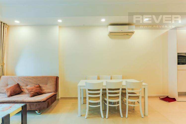 Phòng Ăn Căn hộ M-One Nam Sài Gòn tầng cao, tháp T2, 2 phòng ngủ, view sông