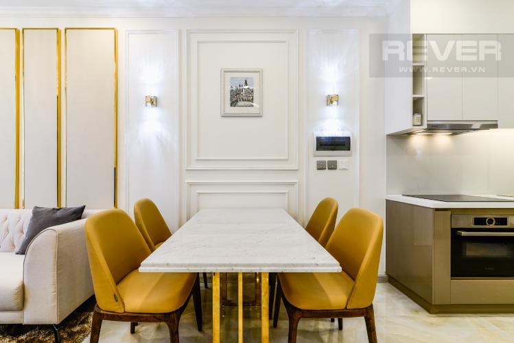Phòng Ăn Officetel Vinhomes Golden River tầng trung, tháp Aqua 1 hướng Tây Nam