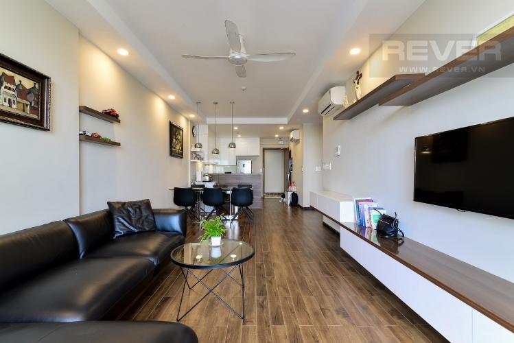 Phòng Khách Bán căn hộ The Gold View 2PN, tháp A, đầy đủ nội thất, hướng Đông Bắc, view hồ bơi và kênh Bến Nghé