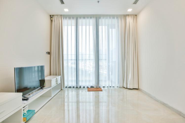 Phòng Khách Officetel Vinhomes Golden River 1 phòng ngủ tầng thấp Aqua4 view sông