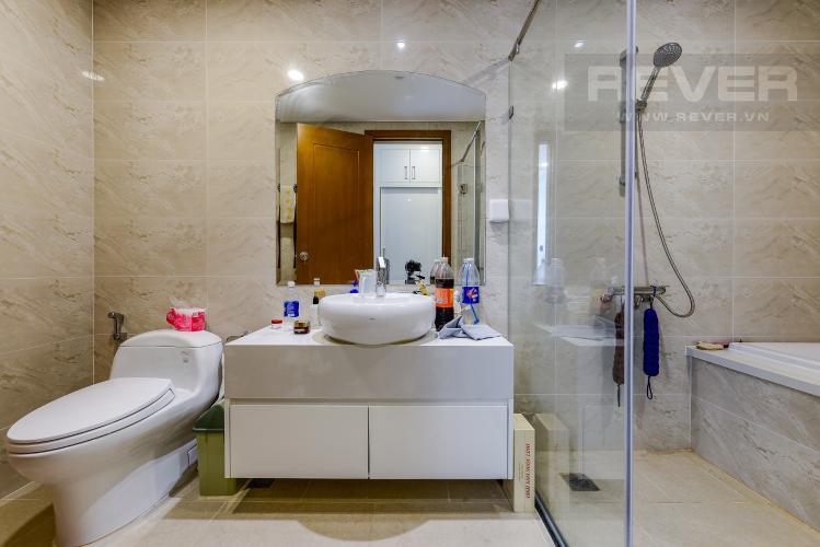 Phòng tắm 1 Bán căn hộ Vinhomes Central Park tầng cao, 4PN, đầy đủ nội thất, view đẹp