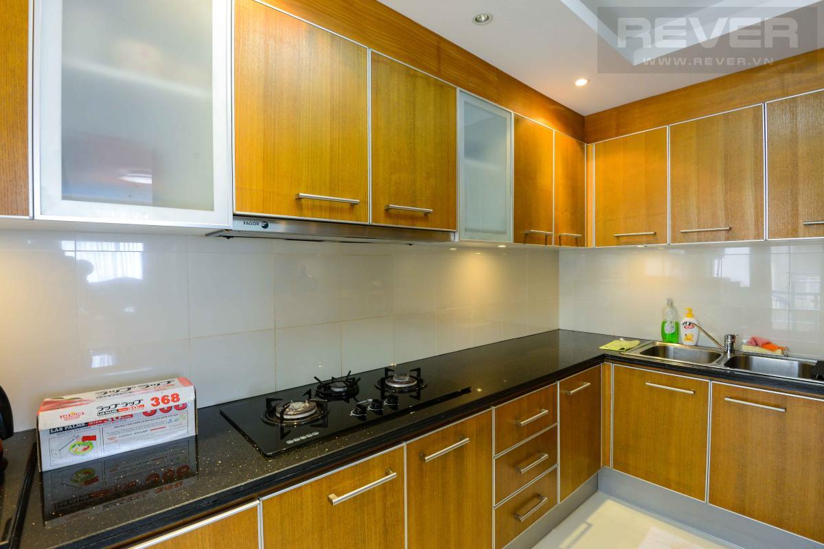 bếp 1 Bán hoặc cho thuê căn hộ Saigon Pearl 3PN, tầng cao, tháp Sapphire 1, đầy đủ nội thất, view sông và thành phố