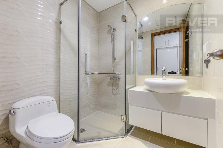 Phòng tắm 2 Căn hộ Vinhomes Central Park 3 phòng ngủ tầng trung L5 nhà trống