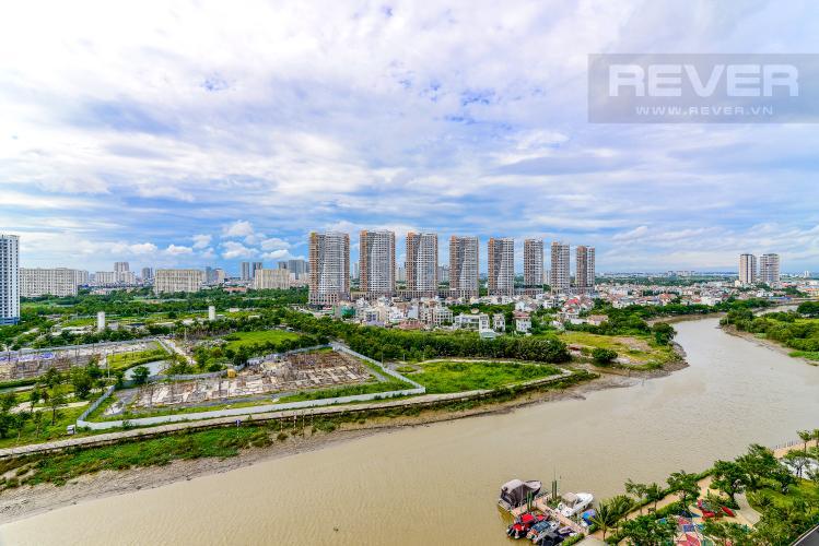 View Cho thuê căn hộ Diamond Island - Đảo Kim Cương 3PN, không có nội thất, view sông và Landmark 81