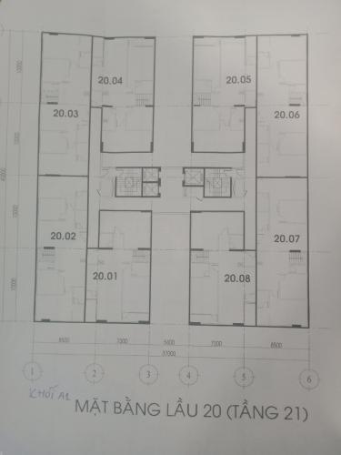 Bản vẽ Đạt Gia Residence, Thủ Đức Căn hộ Penthouse Đạt Gia Residence bàn giao nội thất cơ bản.
